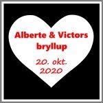 Save the date kort bryllup til bryllup, konfirmation, barnedåb, fest, magnetskilt