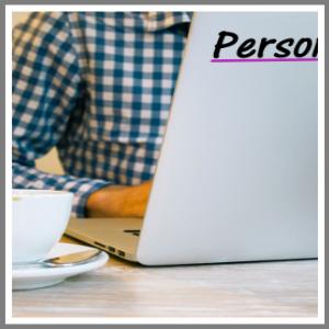 Reklame, navn, tekst på din bærbare computer