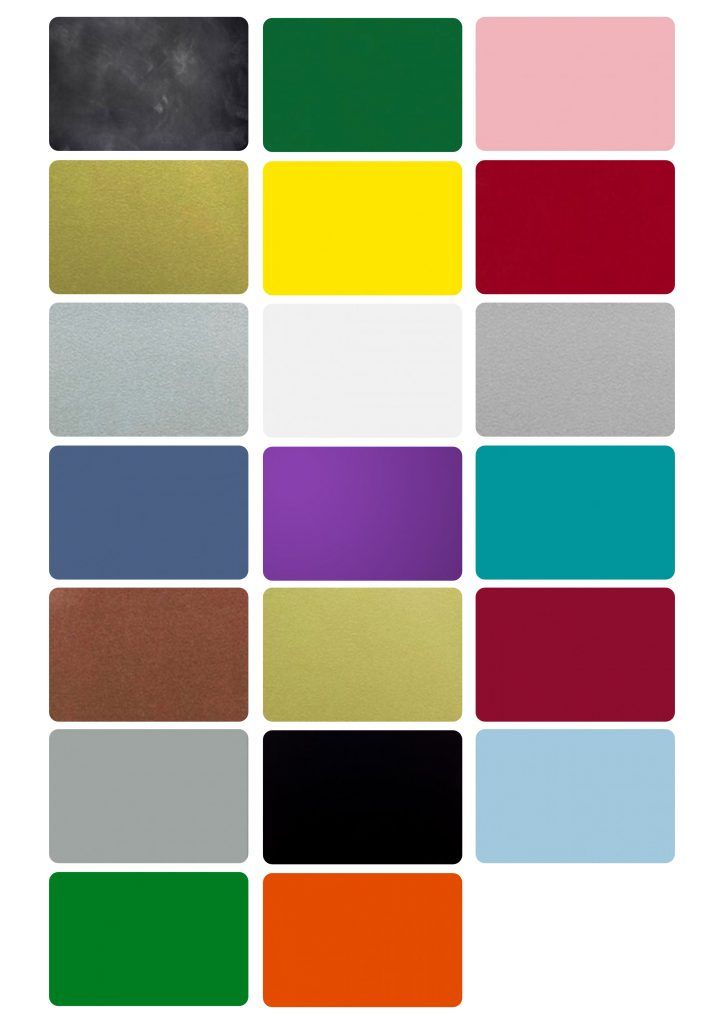 Plastikkort kreditkort farver