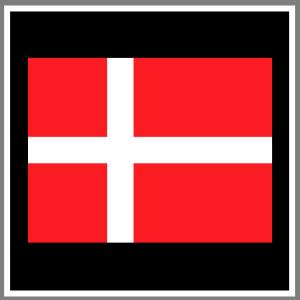 Flag fødselsdagsflag dansk flag skilte, tøj whiteboard, magneter strygestof