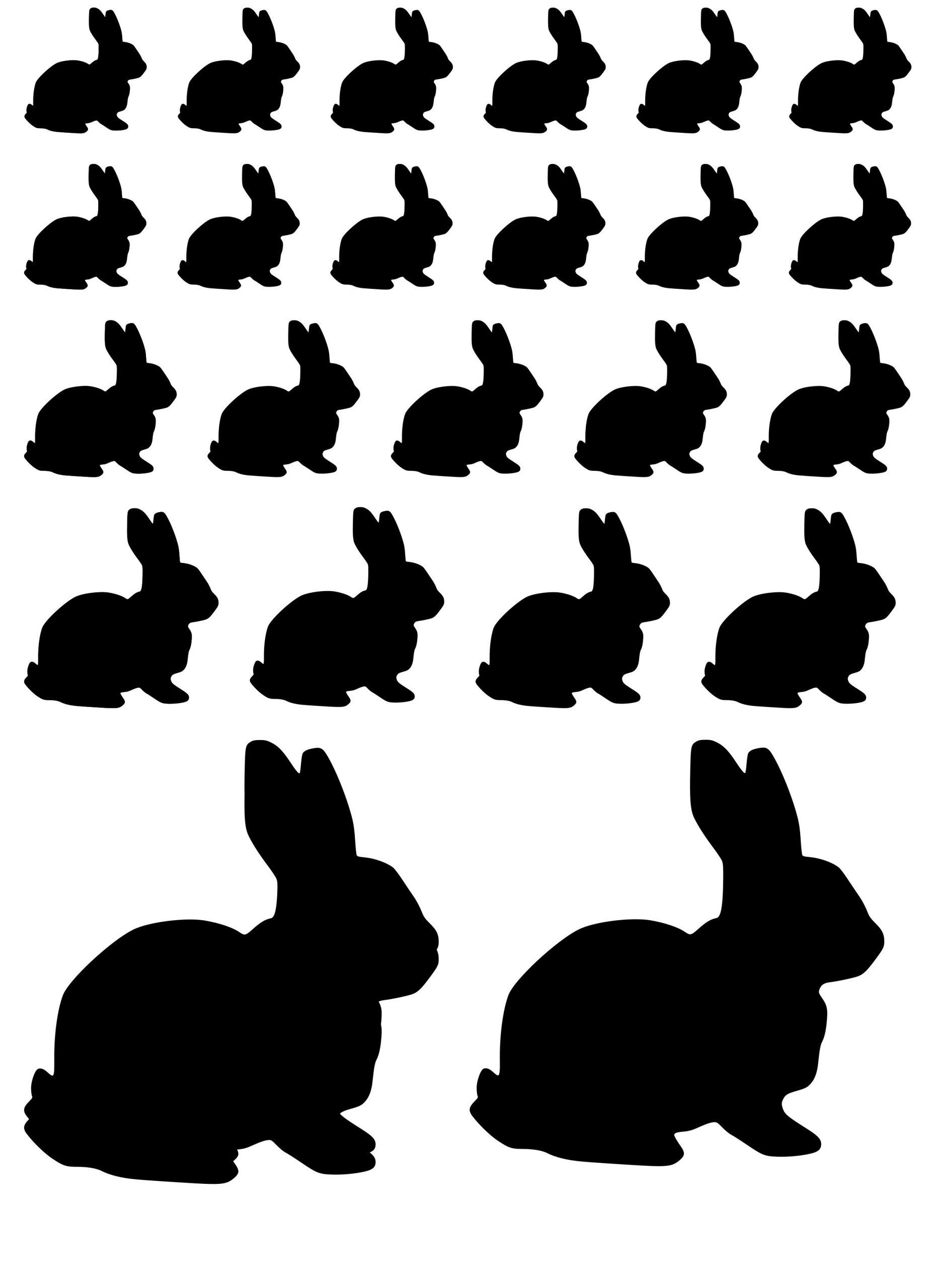 Klistermærker med kæledyr kaniner kæledyr ark