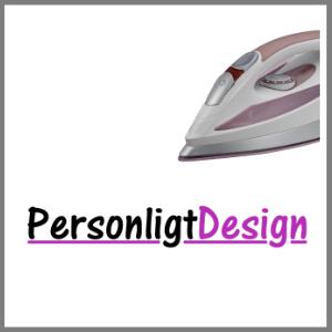Strygemærke tryk tøj logo PersonligtDesign